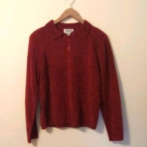 NWT Alfred Dunner Chenille Sweater